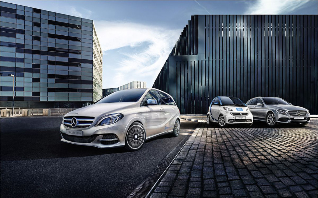 Imagebild zum B FLEXIBLE PACKAGE der Mercedes Benz B-Klasse Electric Drive