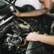 Wartung Motor Auto